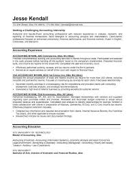 Sample Tax Accountant Resume by Example Of Resume Accounting Best Free Resume Collection