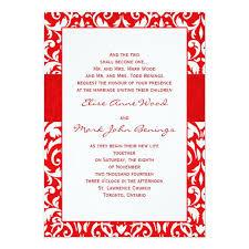 Damask Wedding Invitations Red Damask Wedding Invitation Template U003e U003e Wedding Invitations