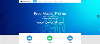 informational website templates free islamic website template one free islamic templates