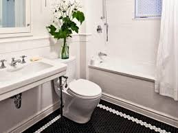 Bathroom Tile Border Ideas Colors Black And White Bathroom Border Tiles Relaxing White Accents For