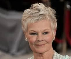 haircut for square face women over 50 judy dench in many a comedy but also can play a hard case role