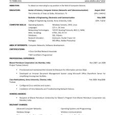 Objective For Resume Internship Resume Internship Resume Examples Example Intern Resume Cover Letter