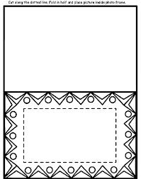 design photo frame coloring crayola