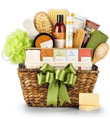 organic spa gift baskets lovely s day organic spa gift basket is for