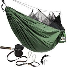 amazon com adventure gear outfitter hammock with mosquito net and