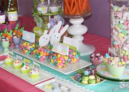 easter table favors party with a k the easter party