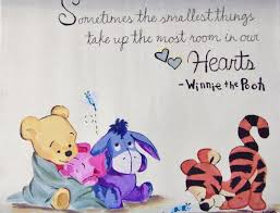 eeyore quotes winnie pooh quote creative canvas paintings