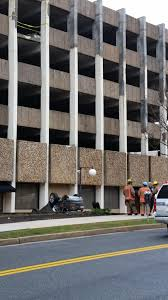 lexus towson md police car falls from parking garage in towson wciv