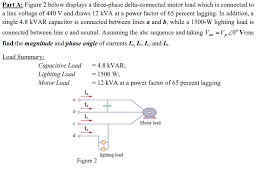 power factor for lighting load figure 2 below displays a three phase delta connec chegg com