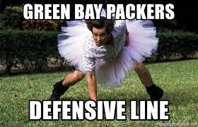 Green Bay Memes - green bay packers defensive line ace ventura football player