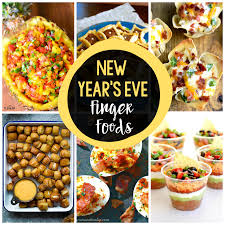 25 new year u0027s eve finger foods crazy little projects