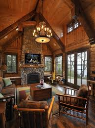 Best 10 Stone Cabin Ideas by 10 High Ceiling Living Room Design Ideas Log Cabin Kitchens