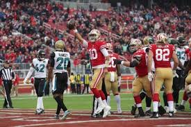 christmas gifts for 49ers fans 49ers give fans early xmas gift they beat jaguars 44 33 oakland post