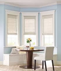 Kitchen Window Covering Ideas Furniture Breathtaking Kitchen Bay Window Treatments Treatment