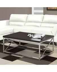 monarch specialties coffee table slash prices on monarch specialties chrome metal coffee table