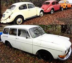 volkswagen squareback 1971 vw beetle lot with bonus squareback