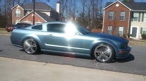 2005 Black Mustang Gt 2005 S197 Mustang Gt With 20 U0027 U0027 Cragar S S 610 No Mufflers Youtube