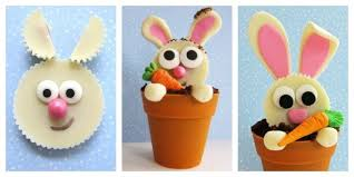 reese s easter bunny carrot thief cupcakes reese s cup bunnies in terra cotta pot cakes