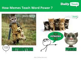 Building Memes - your ultimate source of vocabulary building with memes dailyvocab c