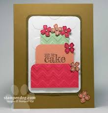 quick and easy birthday card stampin u0027 up demonstrator ann m