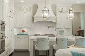White Herringbone Backsplash With Off White Kitchen Cabinets - White kitchen cabinets with white backsplash