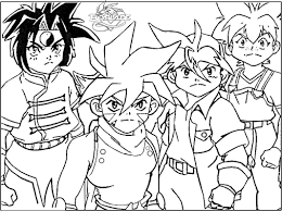 coloring pages for kids printable free within beyblade coloring