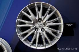 lexus wheels size 2013 lexus gs 350 wheel options lexus enthusiast