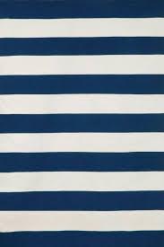dhurrie style rug navy rugby stripe