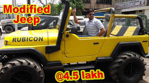 jeep modified classic 4x4 jeeps market custom modified jeep rs250000 thar gypsy