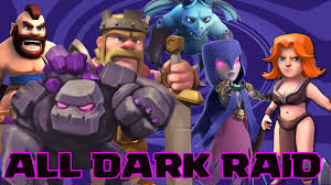 wallpapers arcer quen clash of clash of clans all dark raid challenge raid clash of clans