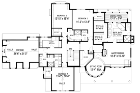 large home plans floor plan modern family magnificent family house plans home