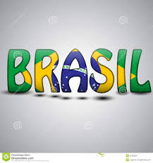 Flag Football Play Designer Brazil Letters With Brazilian Flag Football 2014 Stock