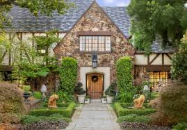 Exterior Home Tudor Style With Stone Cladding Types Exterior