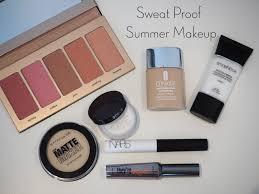 sweat proof summer makeup oily skin makeup combination skin