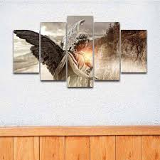 online get cheap bedroom angel canvas picture aliexpress com
