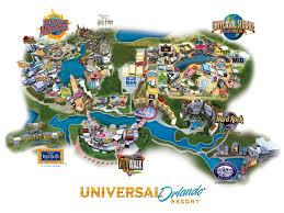 Florida Orlando Map by Universal Orlando 3 Park Explorer Ticket Uk Residents In Florida