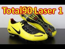 Nike T90 nike total 90 laser 1 zest yellow retro unboxing on