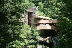 Falling Water Interior Images About Frank Lloyd Wright On Pinterest Usonian And Falling