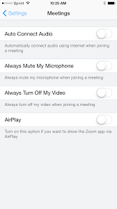 getting started with ios u2013 zoom help center