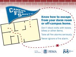 how to install smoke detector campus fire safety outreach materials