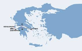 Kefalonia Greece Map by Kefalonia Zakynthos Tour Ionian Islands 8 Days