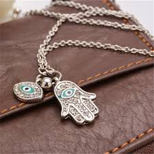 hamsa eye necklace images Fatima hamsa hand turkey blue evil eye necklace charm pendant jpg