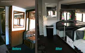 Rv Dinette Booth Bed How To Refinish An Ugly Booth Dinette The New Lighter Life