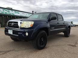 Toyota Tacoma Double Cab Long Bed Used Cars For Sale Alamogordo Nm 88310 Justins Motor Company