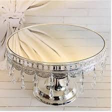 wedding cake plates silver plated senior mirror cake plate cake stand