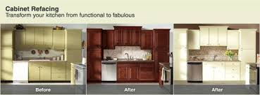 cost of refacing versus replacing kitchen cabinets cost refacing