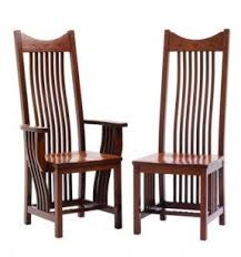 Amish Dining Room Chairs Mission Oak Dining Room Chair Foter
