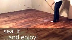 Diy Hardwood Floor Refinishing Diy Farm House Floor Easy And Cheap Wood Floors With That