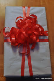 gift wrap ribbon so this is julie archive 12 days of gift wrapping