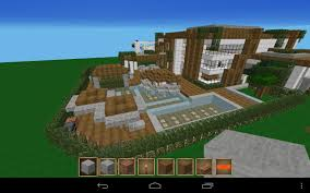 sponge mansion pe mcpe show your creation minecraft pocket